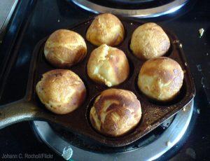 cast iron aebleskiver pan
