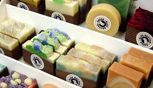 homemade soap farmers market
