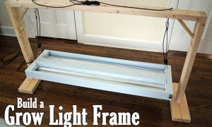 grow light frame