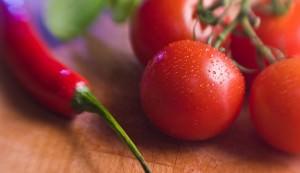 pepper, tomato