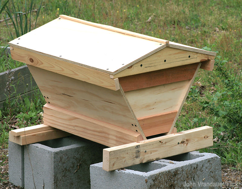 top-bar hive hives beehive bees