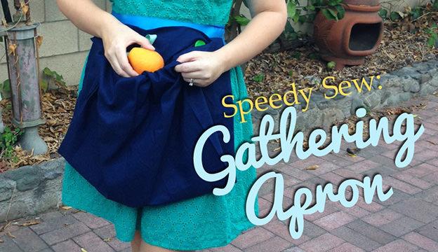 gathering apron