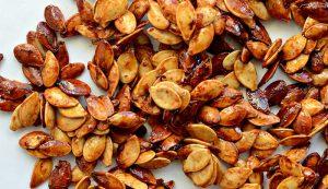 jack-o-lantern pumpkin seeds