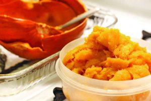 jack-o-lantern pumpkin cook cooking flesh