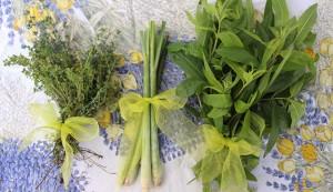 lemon herbs