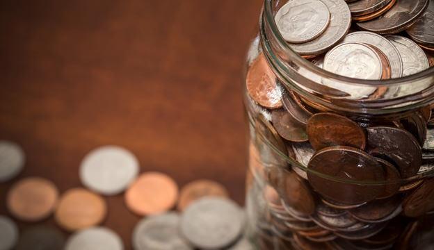money, jar of money, crowdfunding