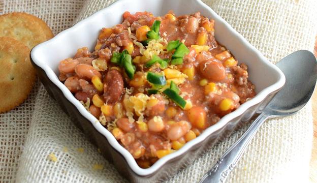 cast-iron chili