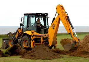 farm equipment backhoe