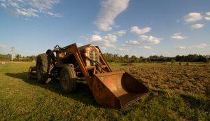 farm equipment front end loader