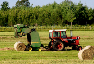 farm equipment hay balers