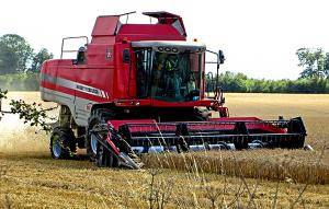 farm equipment combine harvester