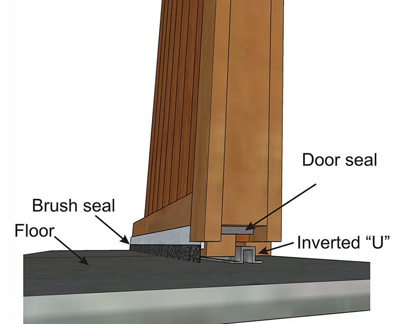 seal sliding barn doors