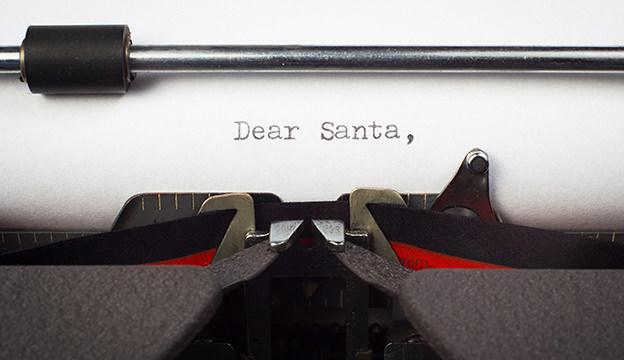Cyn's letter to Santa Claus