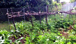 fence post hack urban farm