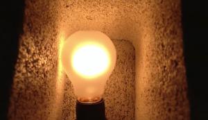 chicken waterer water heater cinder block light bulb