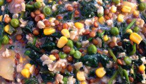 chickens divert food waste