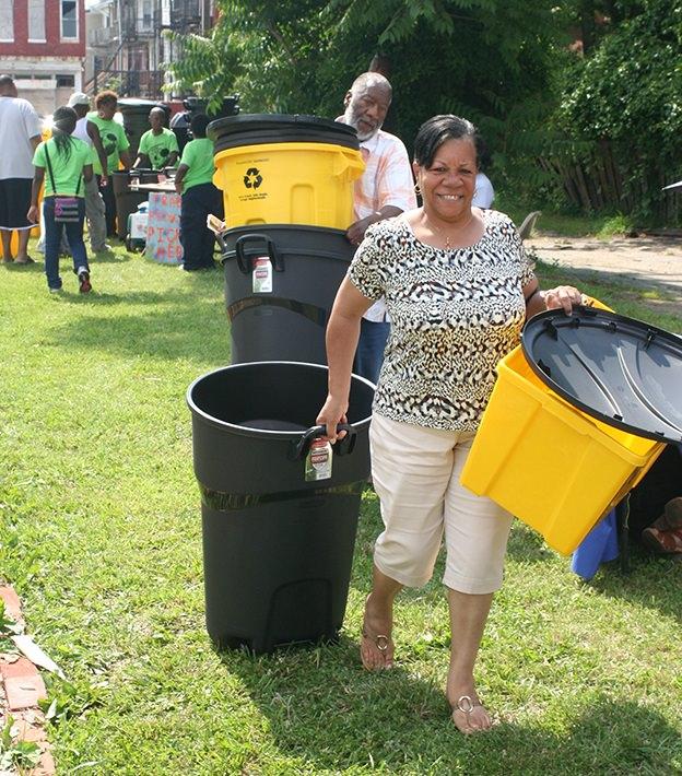 garden, clean up, trash