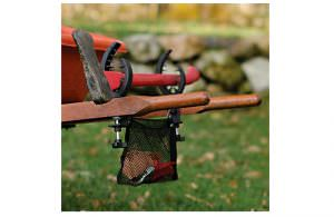 wheelbarrow tool caddy