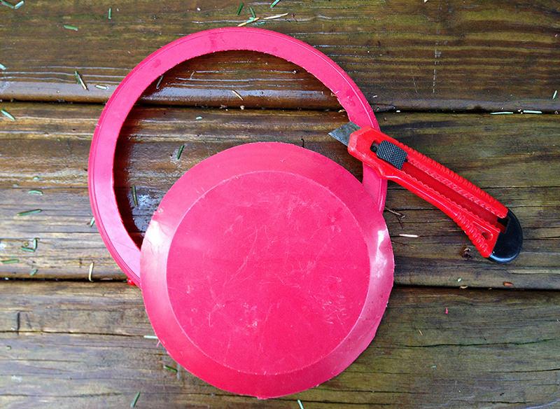 cut Frisbee