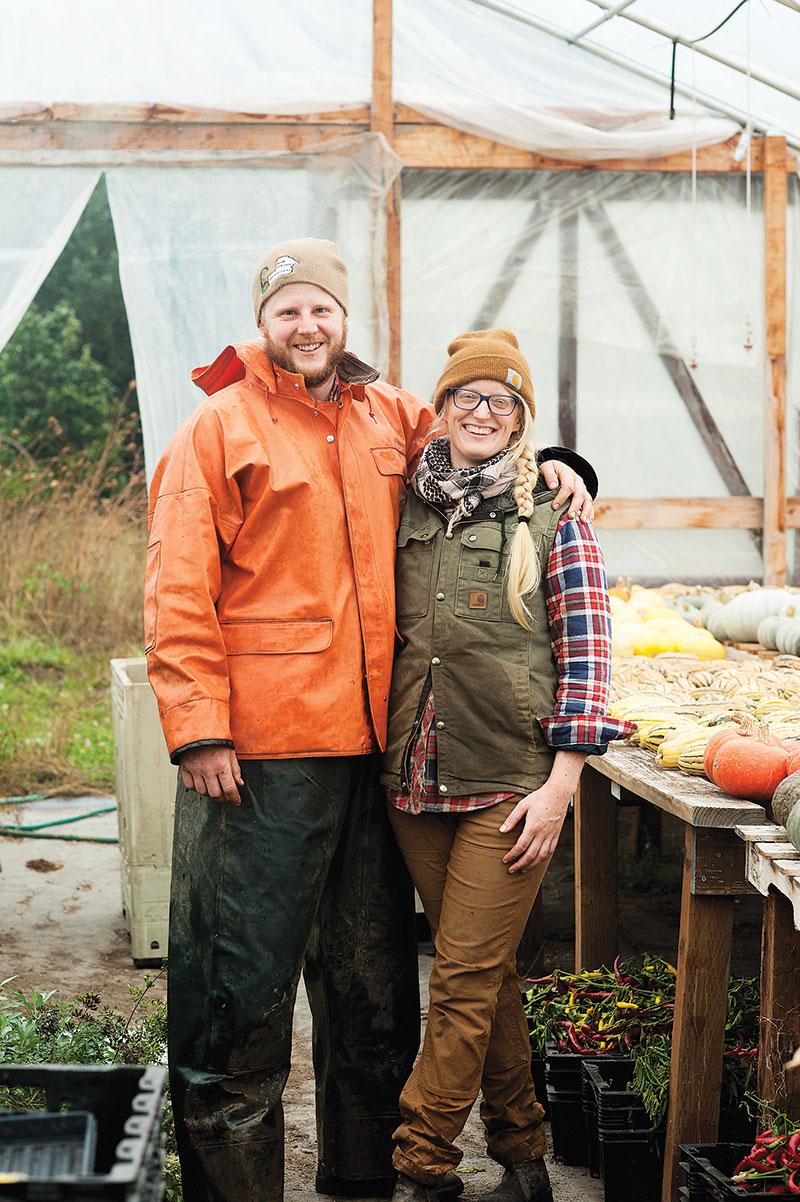Beth Satterfield and Erik Grim