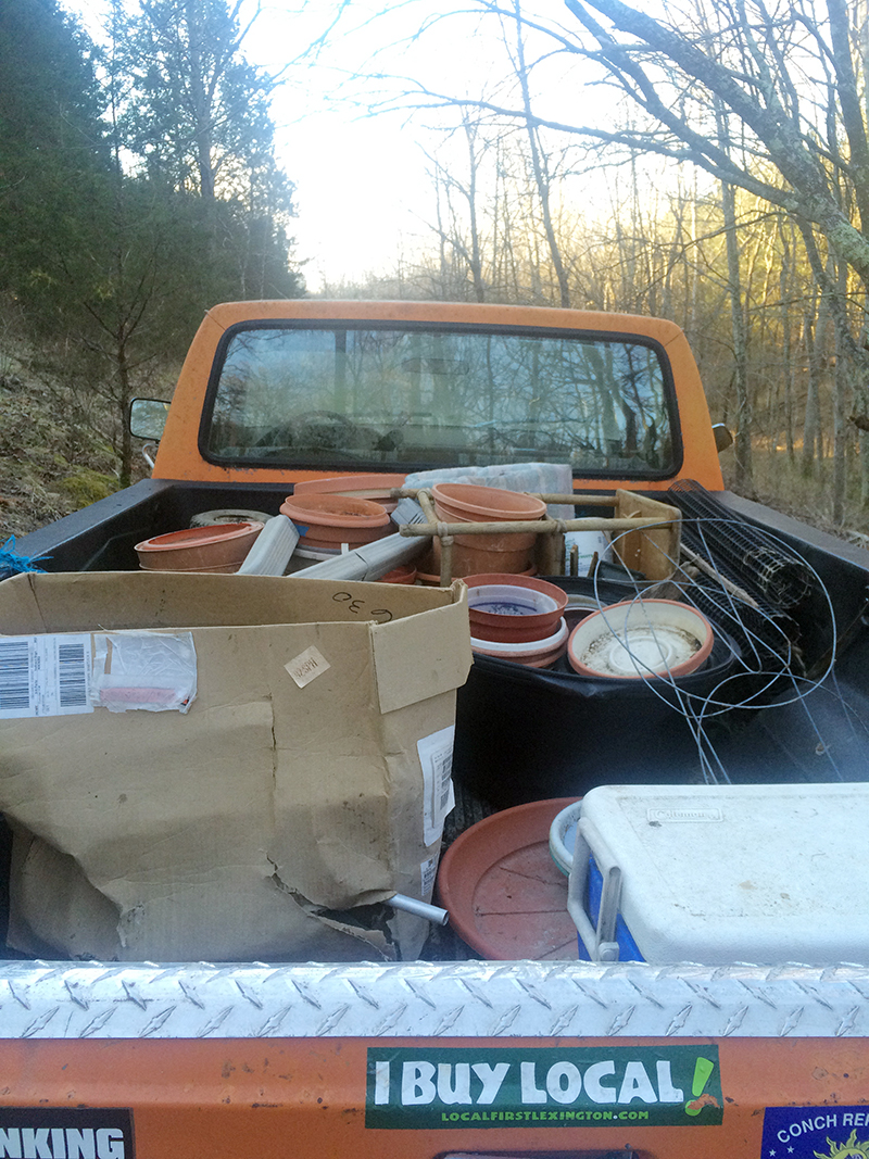 dump day truck