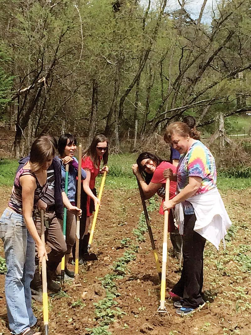 teaching farming