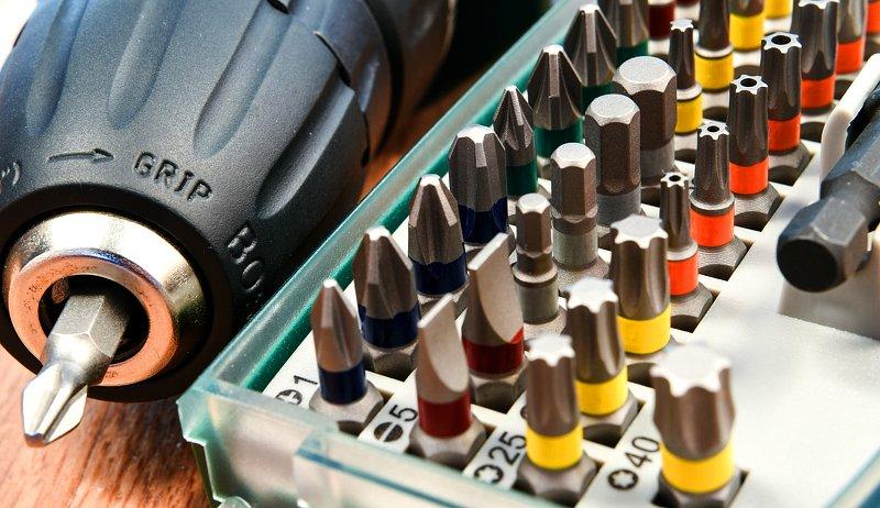 screwdriver bits screw types