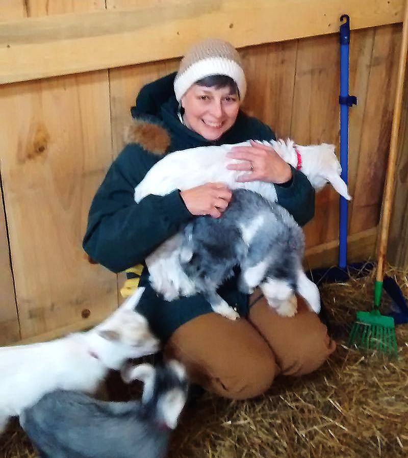 farmer farming tennessee goats