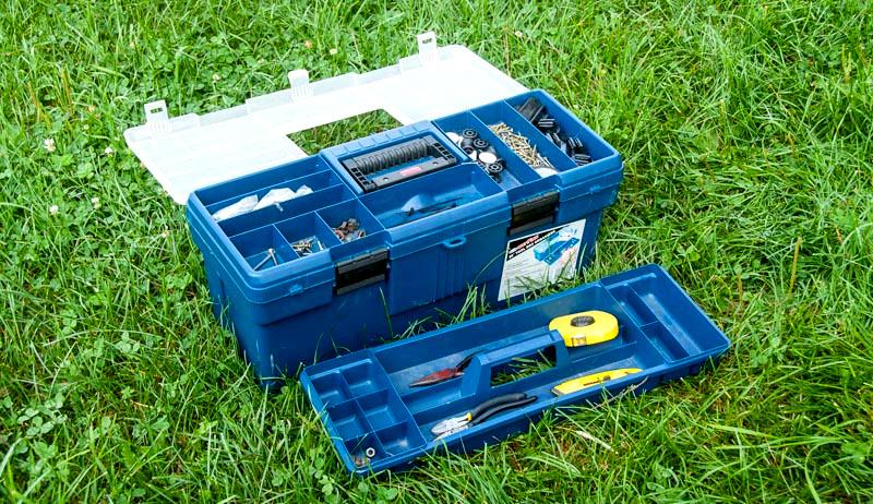 fence repair tool box