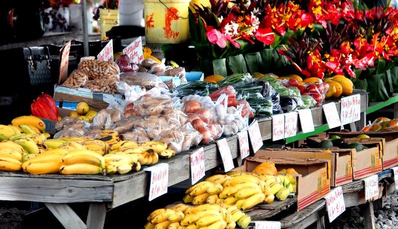 signs farmers market