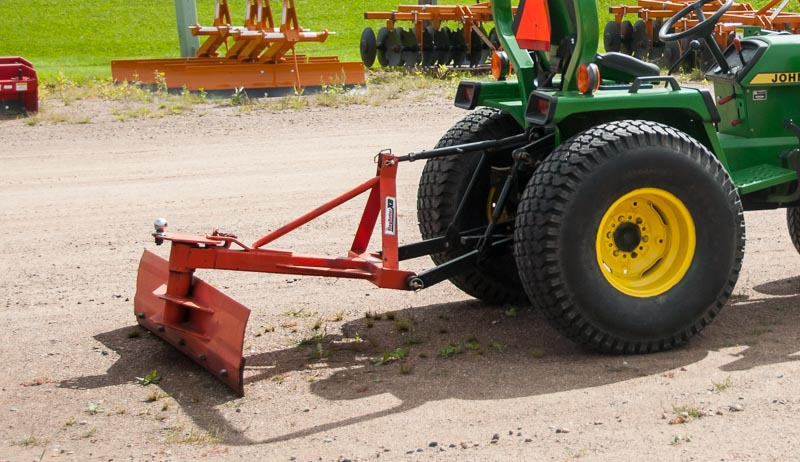 three-point hitch tractor