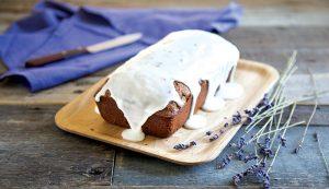 lavender glazed chocolate bread recipe