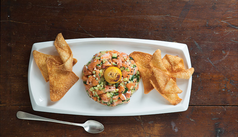 fish tartare recipe