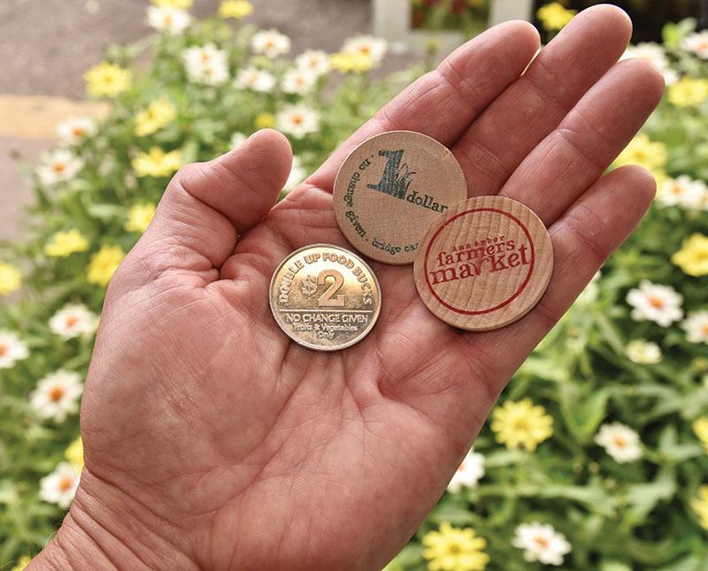 winter farmers markets alternative currency