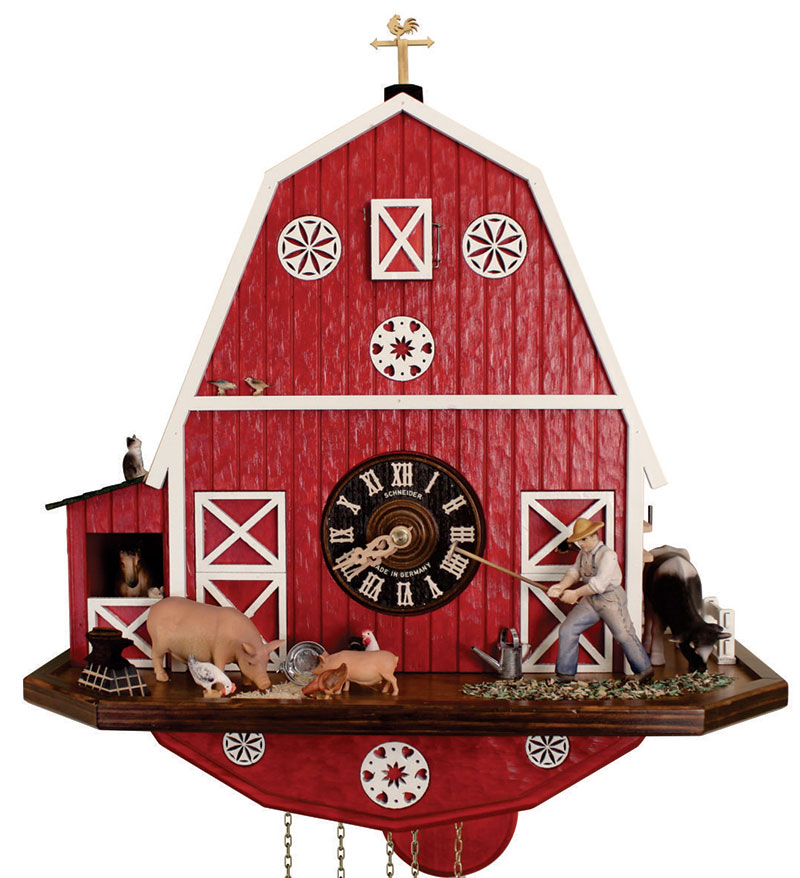 barn cuckoo clock