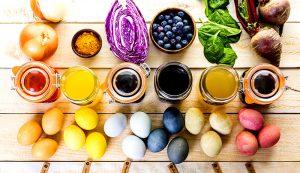 easter eggs natural dye