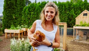 hobby farmers real chickens