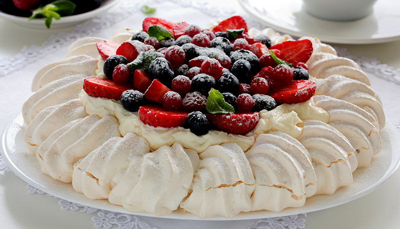 recipe berry pavlova