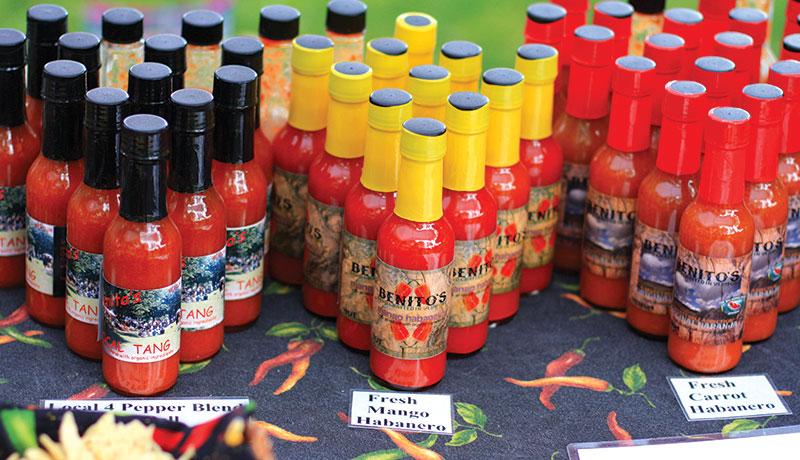 food trends hot sauce