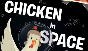 children's books chickens chicken in space