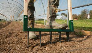 broadfork human-powered garden tools