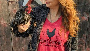 chicken chickens t-shirt