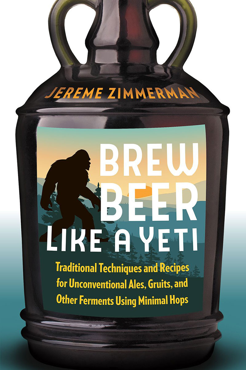 Brew Beer Like a Yeti book cover