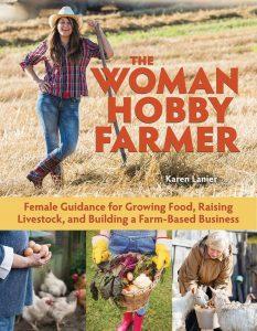 books woman hobby farmer