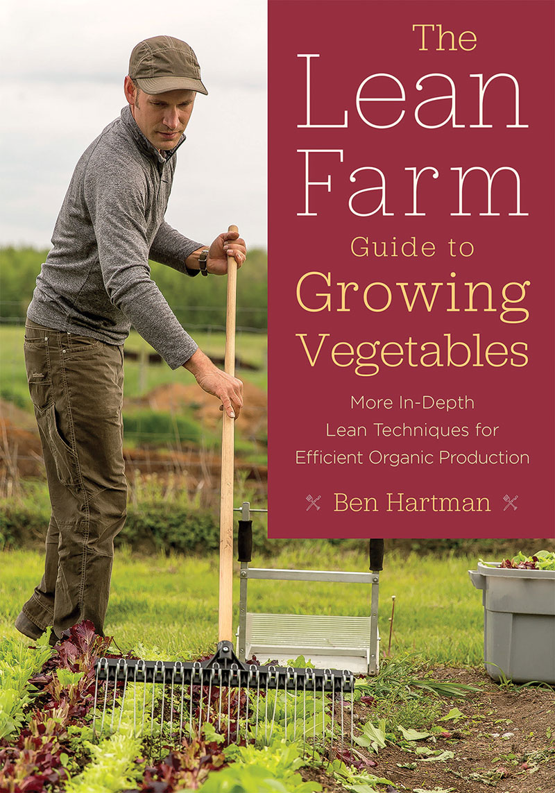 lean farm guide to growing vegetables book