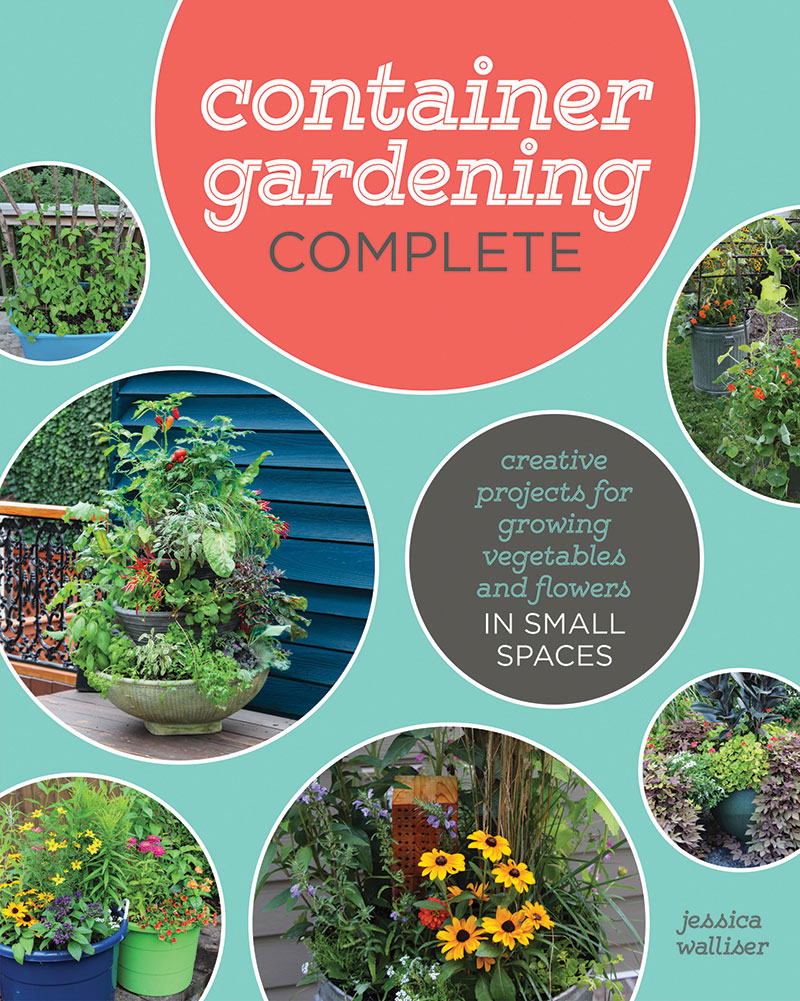 container gardening complete book