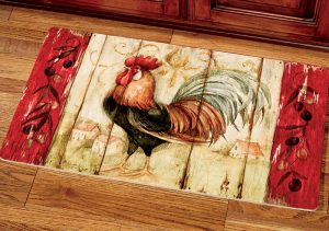 rooster kitchen comfort mat products