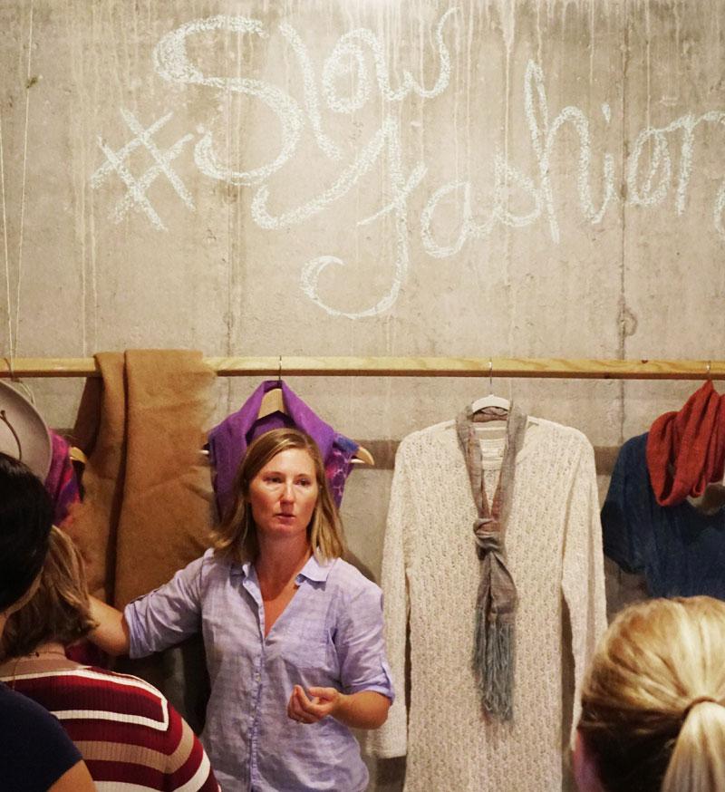river hill ranch fibers fabrics fashion Alvina Maynard