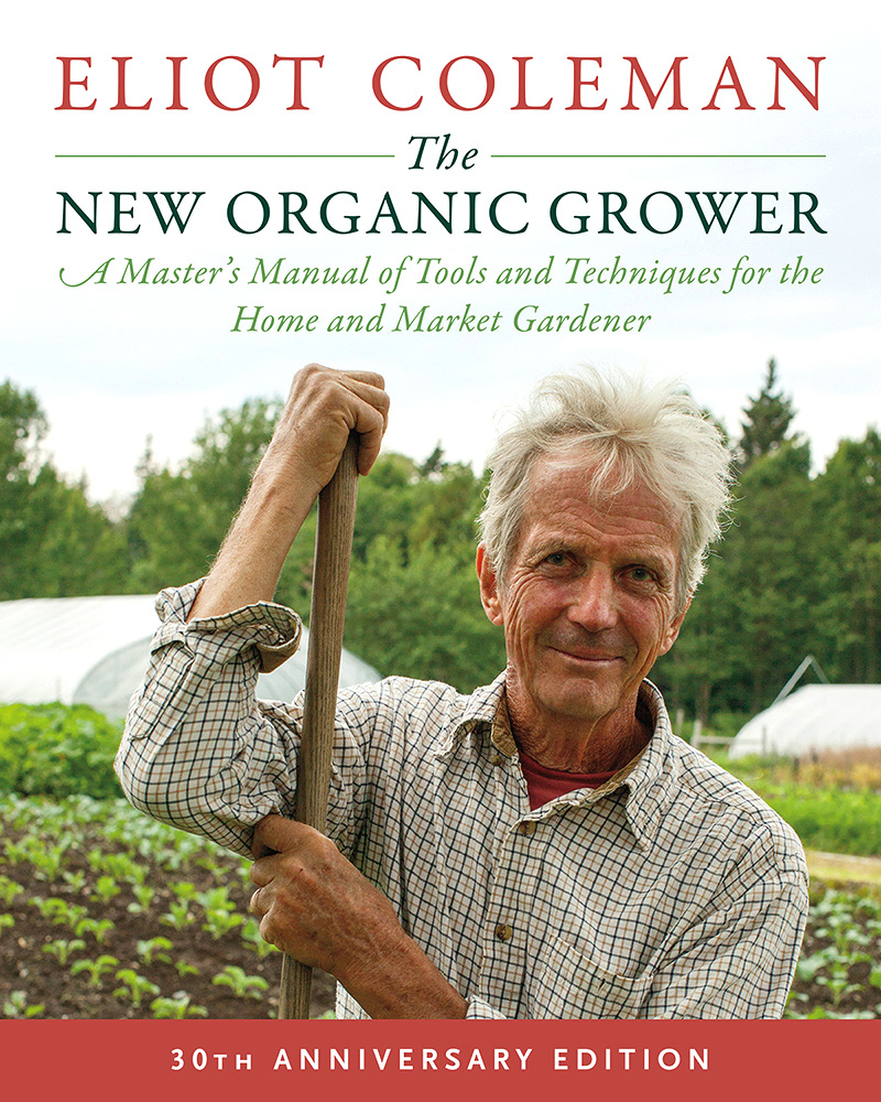 New Organic Grower book review cover