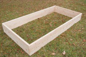 Daniel Johnson raised garden bed beds